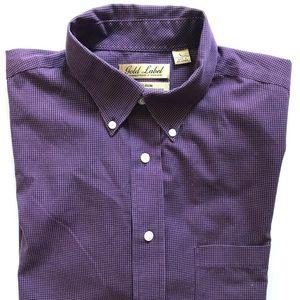 Gold Label Short Sleeve Button Down Shirt